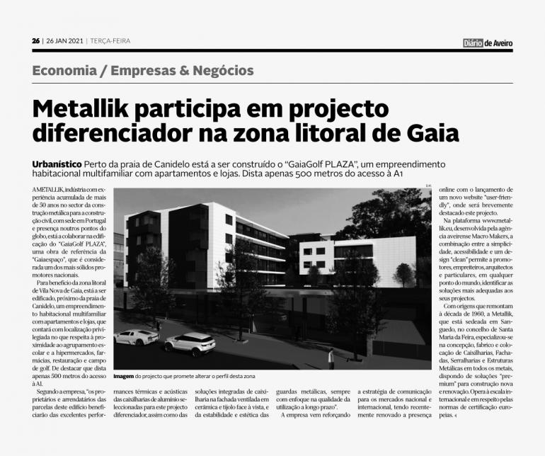 Metallik Participe à un Projet Différenciatteur dans la Zone Littorale de Gaia