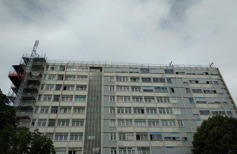 Réhabilitation d'un difice de logements Tours des Tetres (Bagneux)