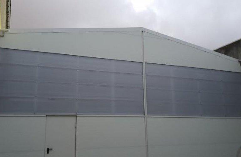 Stand Ducati Norte - Agrandissement de l'Entrepôt