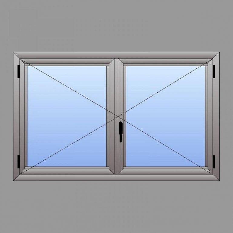 Caixilho de ALUMÍNIO - Sistema de Abrir